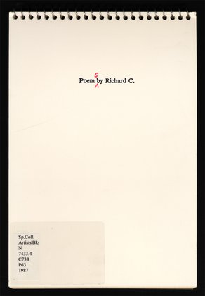 Poems by Richard C